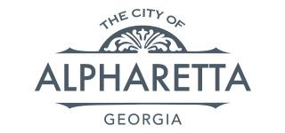 Logo for City of Alpharetta