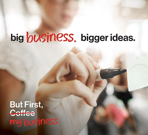 Verizon tv - big business. bigger ideas.