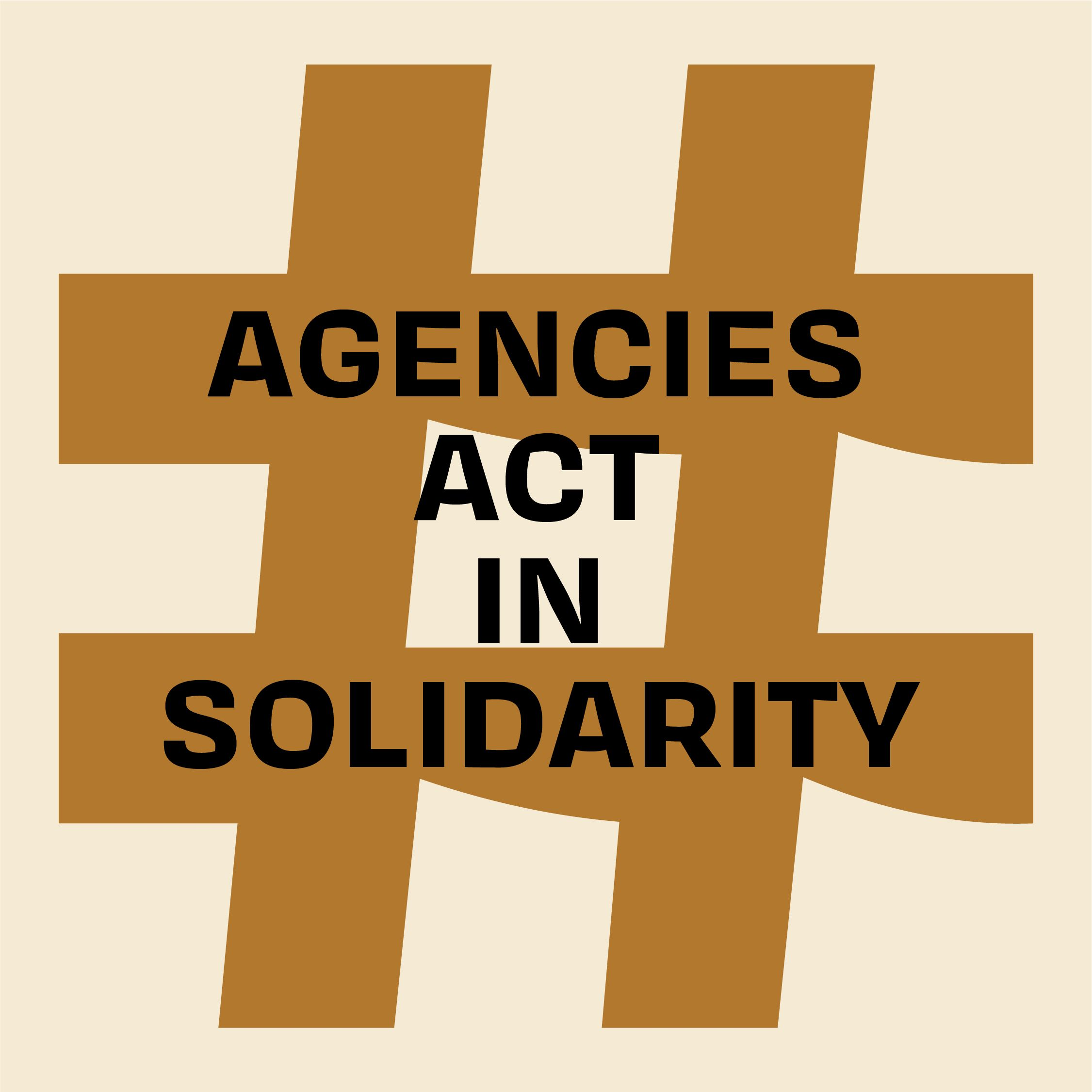 Agencies act in solidarity