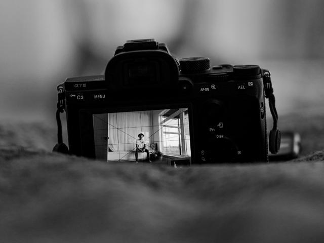Scene inside camera